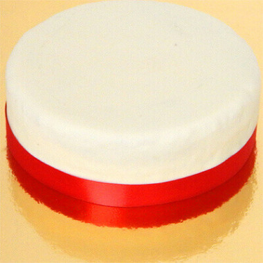 Schmales Tortenband, Rot