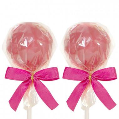 Cake-Pops mit Ruby-Schokolade (12 Stück)