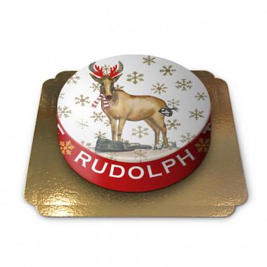 Rudolph Weihnachtstorte von Pia Lilenthal