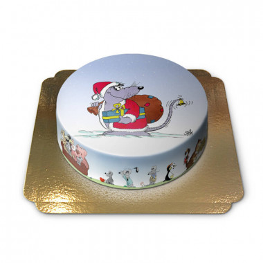 Weihnachtsmaus-Torte
