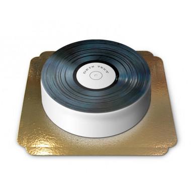 Schallplatten Torte