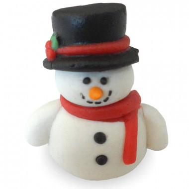 Schneemann aus Zucker