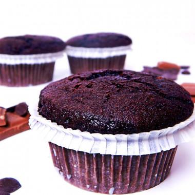 Schokoladen-Muffins, 9 Stück