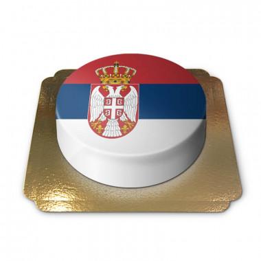 Serbien-Torte