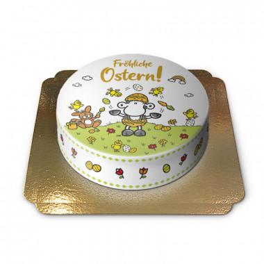 """Sheepworld - """"Fröhliche Ostern""""-Torte"""