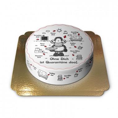 Sheepworld Quarantäne-Torte