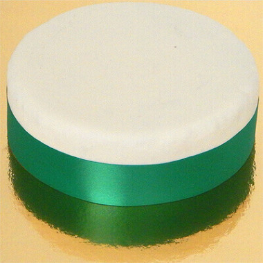Breites Tortenband, Smaragdgrün