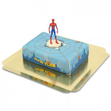 Spider-Man auf Spinnennetz über New York -Torte