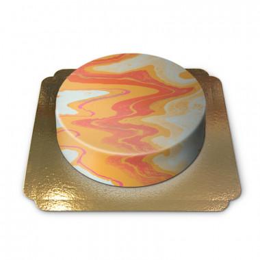 Warme Marmor-Torte