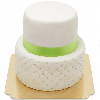 Happy Birthday Deluxe Torte zweistöckig - verschiedene Farben