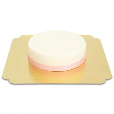 Schmales einfarbiges Tortenband, 19 mm