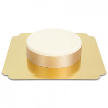 Breites Tortenband, Rosegold