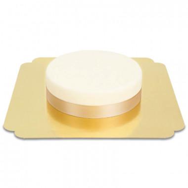 Schmales Tortenband, Rosegold
