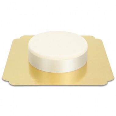 Breites Tortenband, Silber