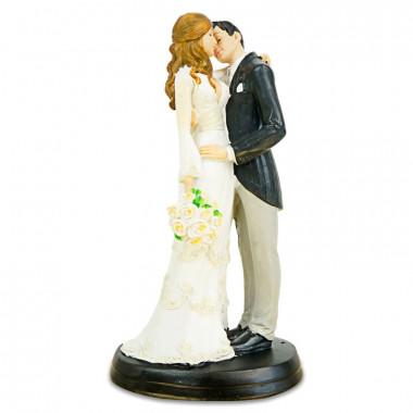 Tortenfigur - Küssendes Brautpaar