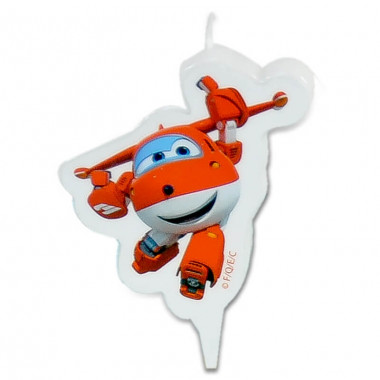 Superwings Tortenkerze Jett