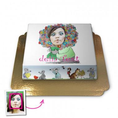 Uli Stein, Face-Cake