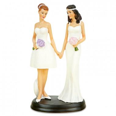 Tortenfigur - Frauenbrautpaar