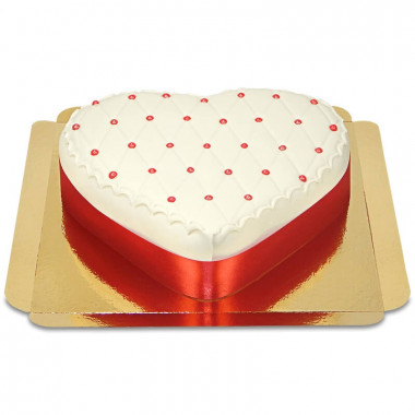 Deluxe Valentinstagstorte in Herzform