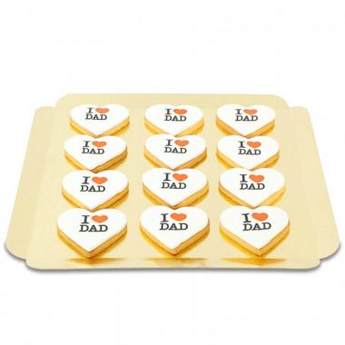 I Love Dad Kekse (12 Stück)