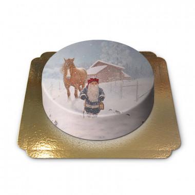 Weihnachtswichtel in Schneesturm - Jan Bergerlind