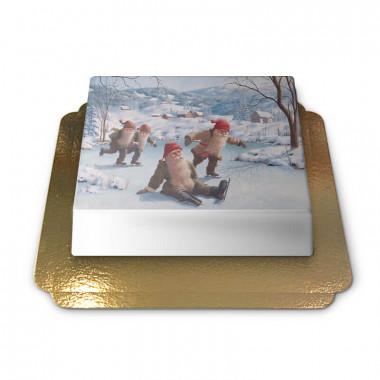 Weihnachtswichtel auf Eisbahn - Jan Bergerlind