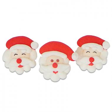 Weihnachtsmänner, (3 Stück)