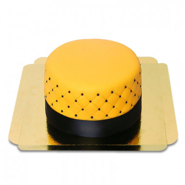 Gelbe Deluxe Torte - doppelte Höhe