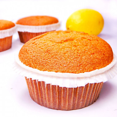 Zitronen-Muffins, 9 Stück