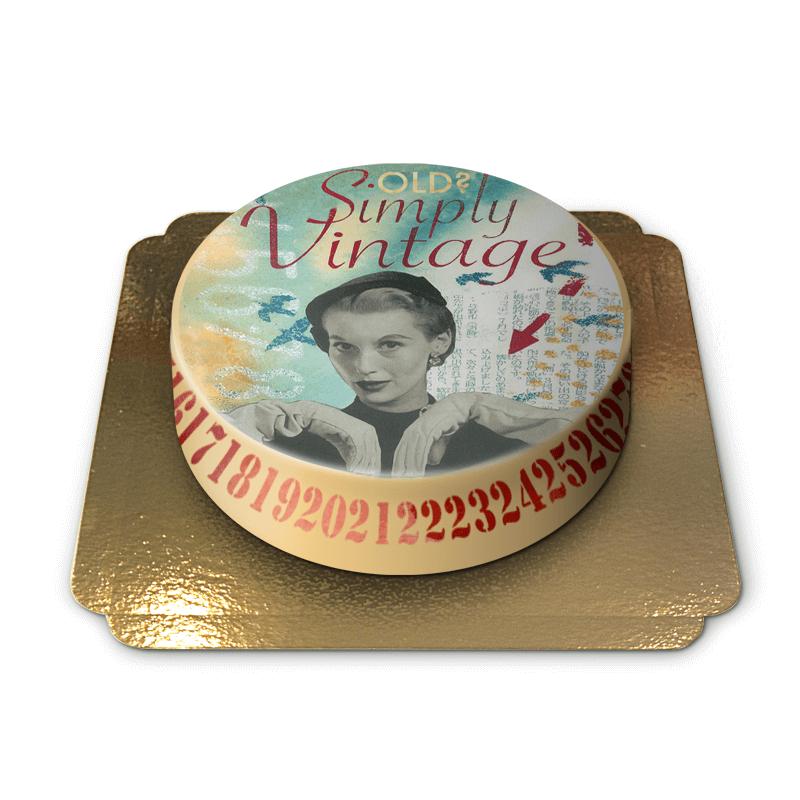 Vintage tort projektu Pia Lilenthal