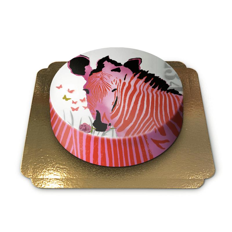 Tort zebra projektu Pia Lilenthal