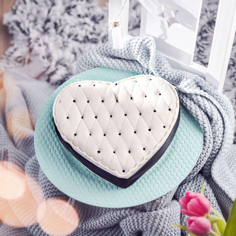 Deluxe Valentinstagskuchen in Herzform