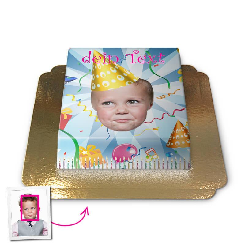 Birthday, Face-Cake