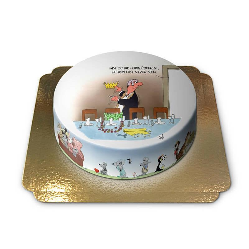 Chefessen Torte