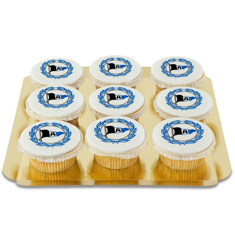 Arminia Bielefeld Cupcakes, 9 Stück