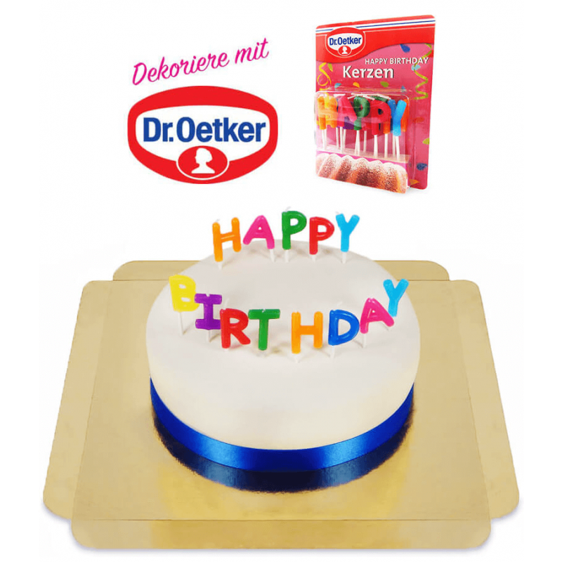 Dr. oetker happy birthday