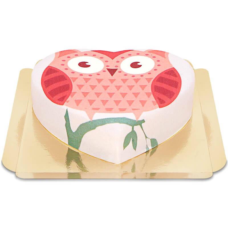 Tort z sową