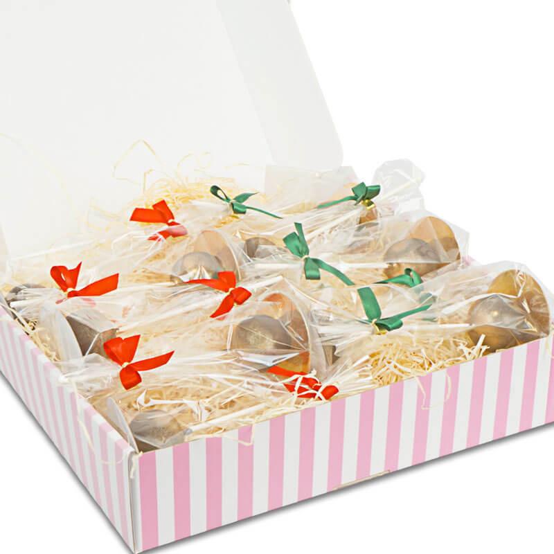 Goldene Deluxe-Cake-Pops - Weihnachtsedition