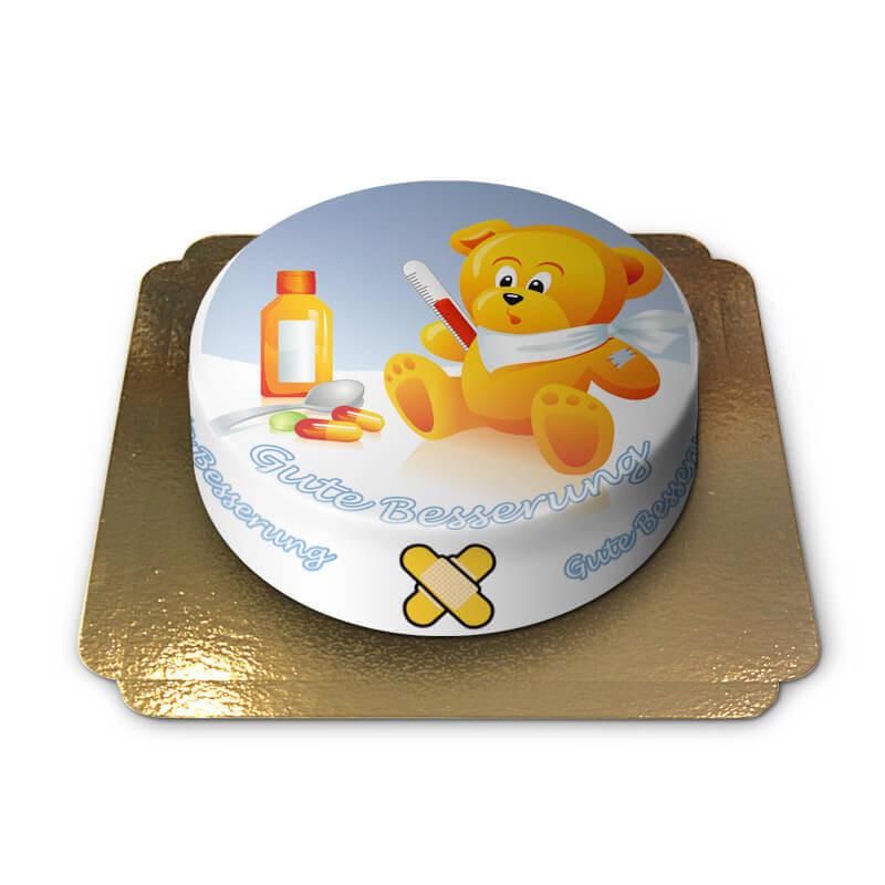 Teddy Gute Besserung-Torte