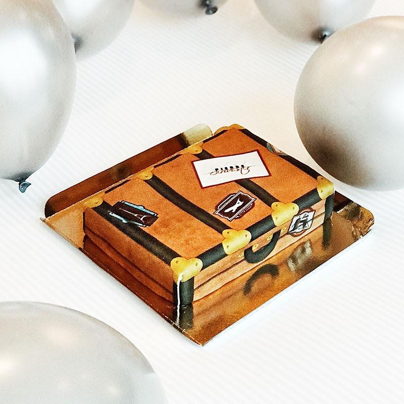 Gute Reise-Torte