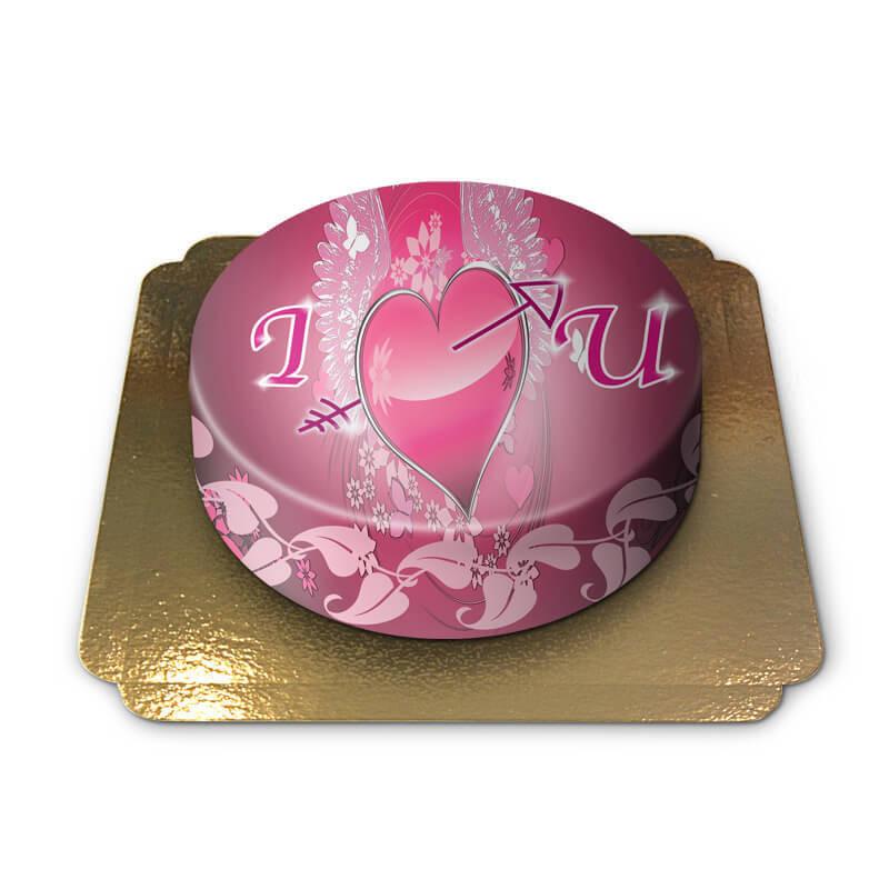 I love you Torte