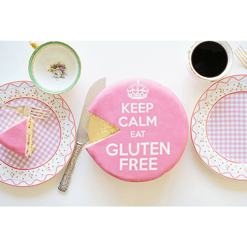 Keep Calm eat Gluten Free Cake