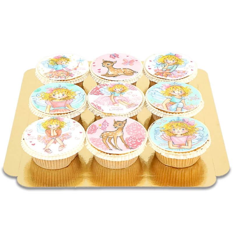 Zauberhafte Cupcakes mit Prinzessin Lillifee