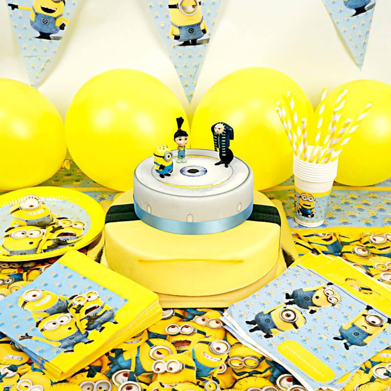 Partyset Minions 2-stöckig