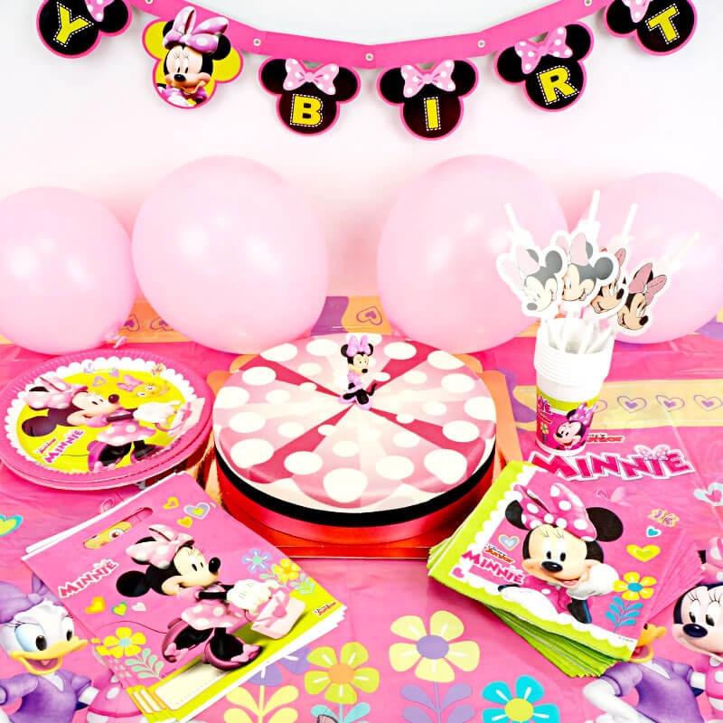 Minnie Maus Partyset 1-stöckig