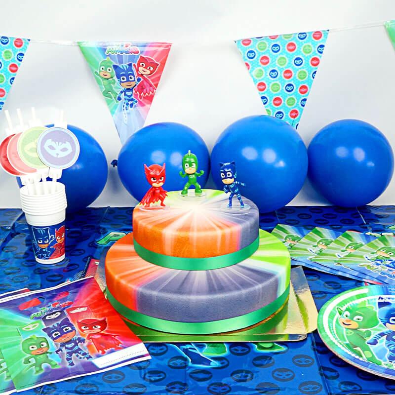 PJ Masks Partyset inkl. Torte