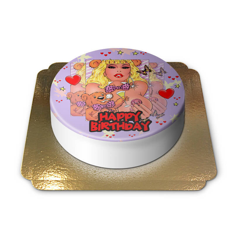 Erotyczny tort urodzinowy