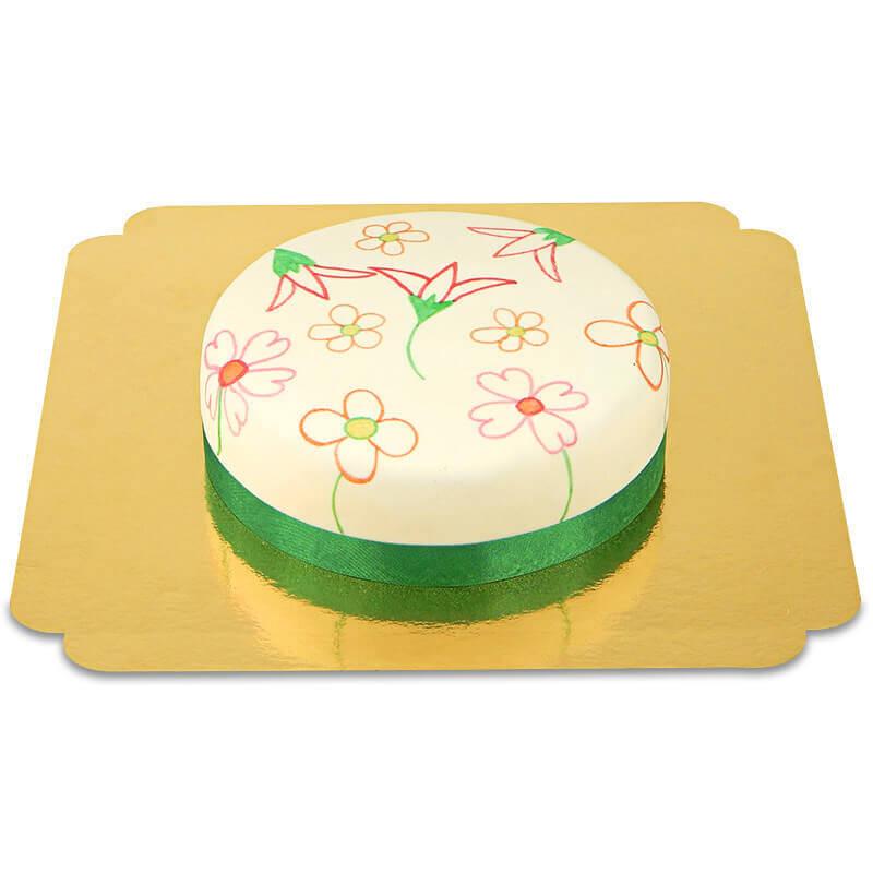 Tort z pisakami tortowymi