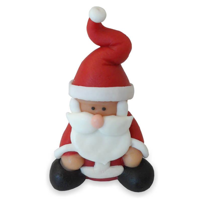 Święty Mikołaj z marcepanu