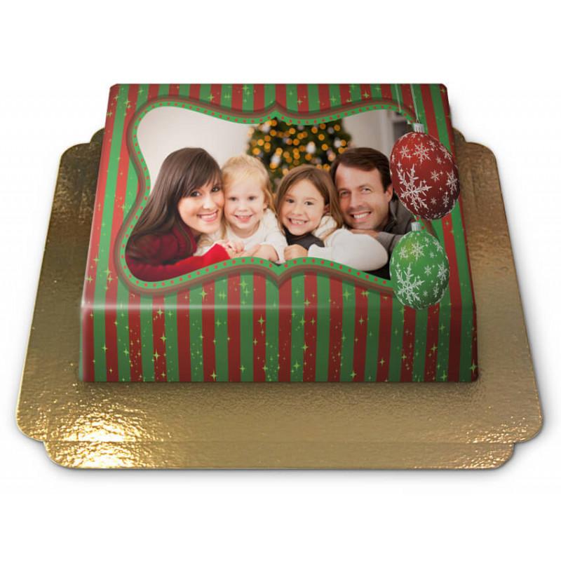 Fototorte S Weihnachten - 20 x 14 cm